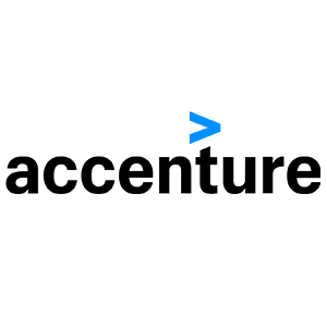 Accenture logo.