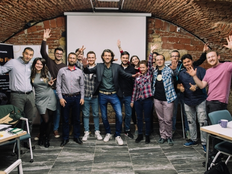 happy attendees at a LEAN Startup and Growth Hacking workshop