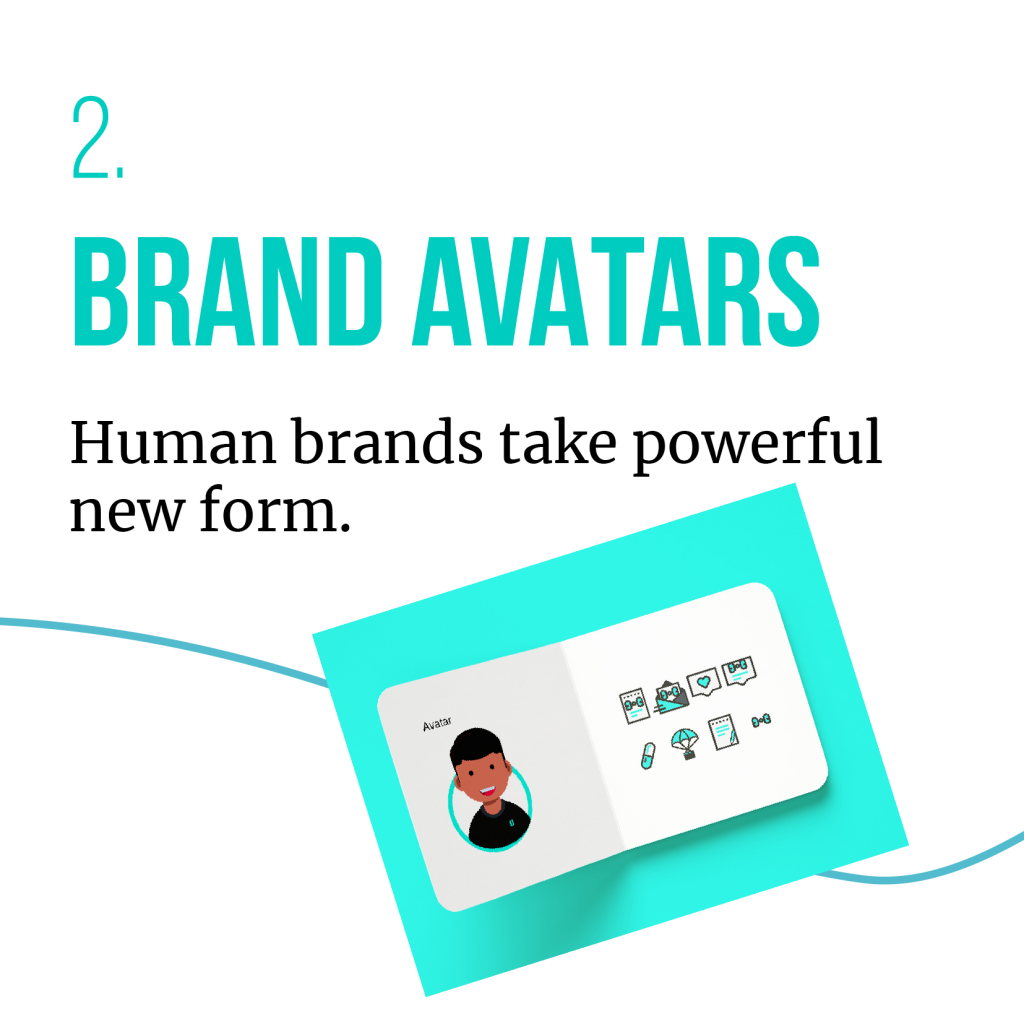 BRAND AVATARS - one of the five consumer trends predicted for 2020