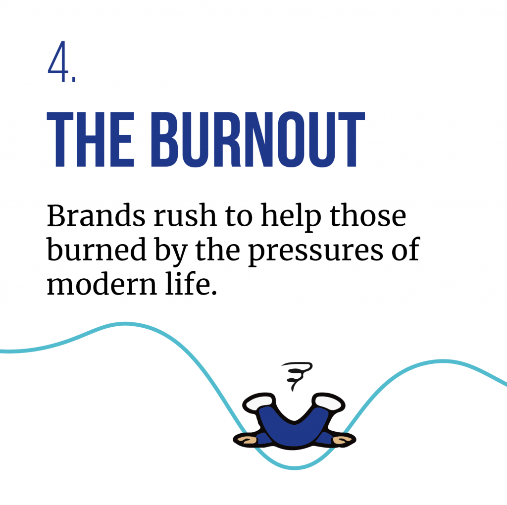 THE BURNOUT - one of the consumer trends predicted for 2020